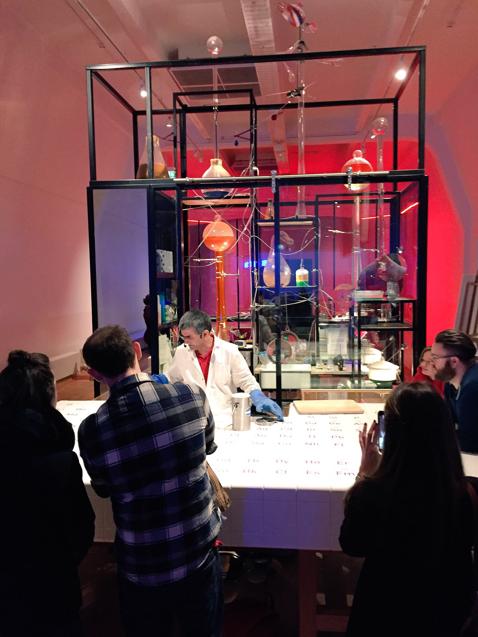 The Wonderlab at the Science Museum