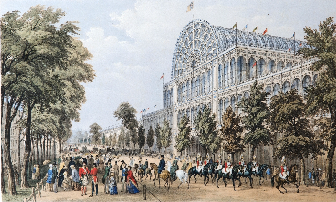 The Crystal Palace is believed to have been the largest building on Earth when it opened in 1851.