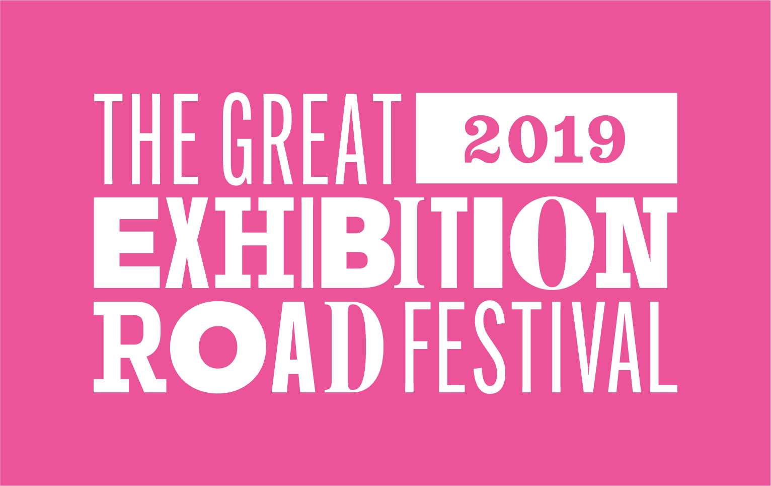The Great Exhibition Road Festival Logo