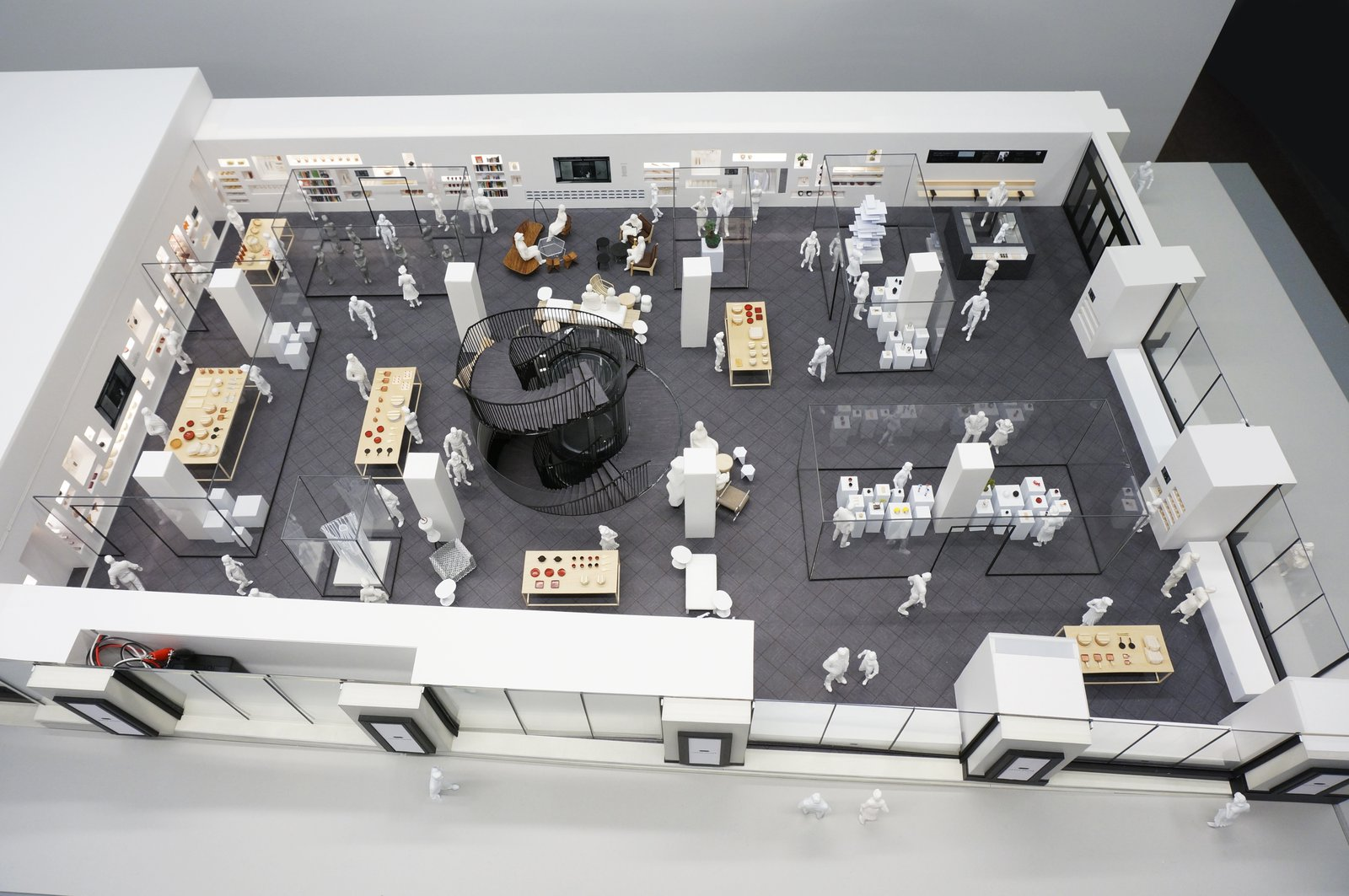 Birds Eye View of the Cultural Retail Floor, Japan House London