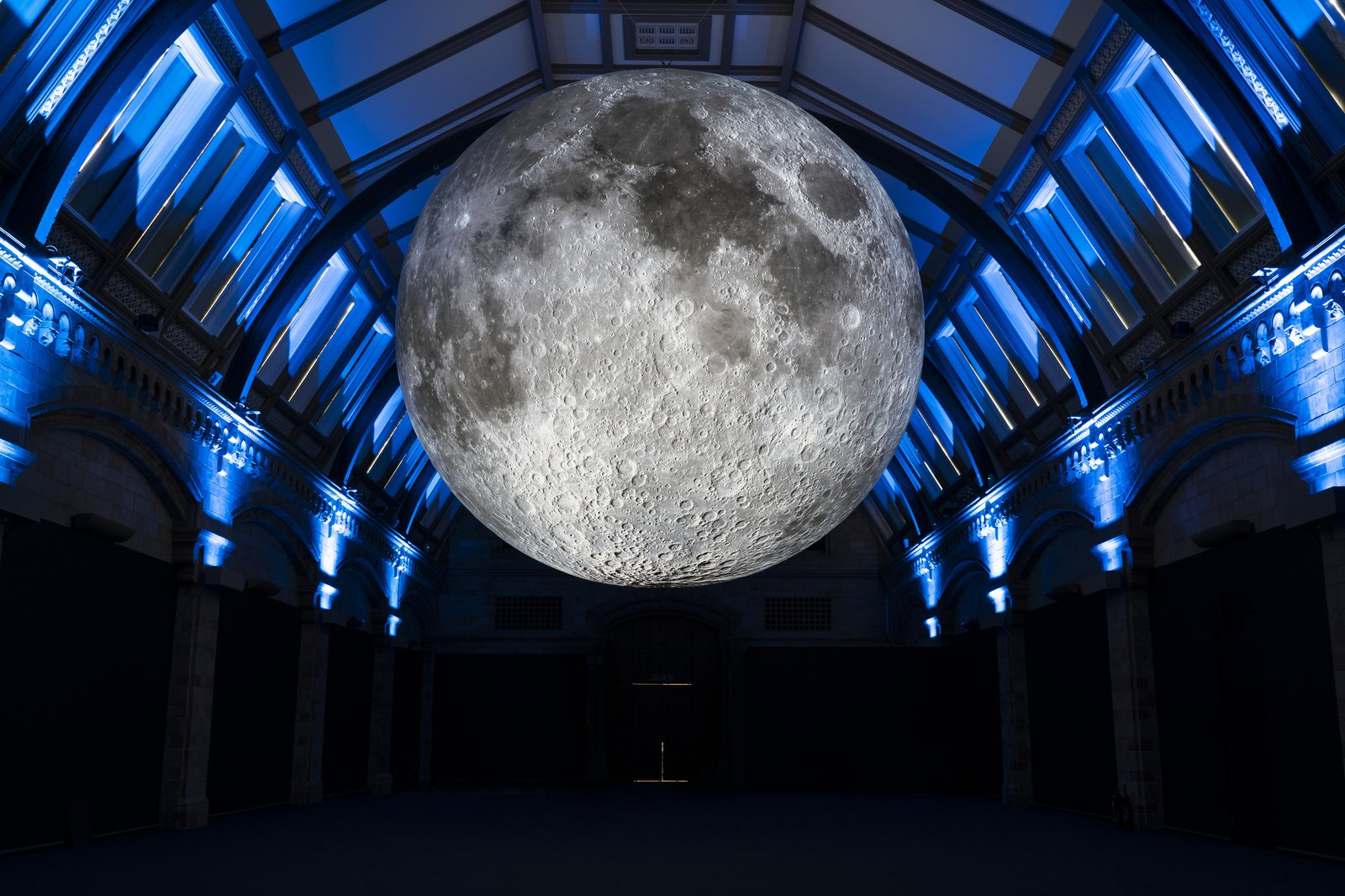 Museum of the Moon, Natural History Museum