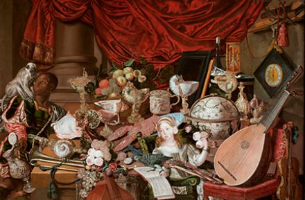 The Paston Treasure, unknown artist, Dutch School, c1663, oil on canvas © Norfolk Museums Service. Courtesy of the Royal College of Music.