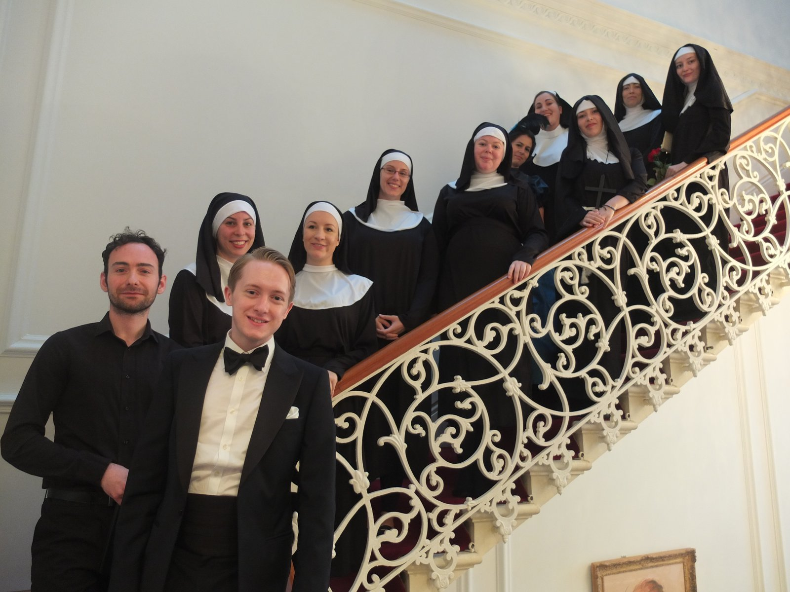 "	The ""Suor Angelica"" Opera, performed by students from the Trinity Laban Conservatoire of Music and Dance"