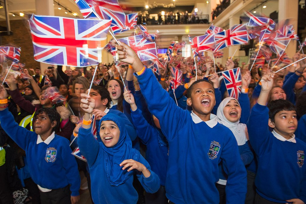Schools celebrating Tim Peake's launch to the ISS, Science Museum