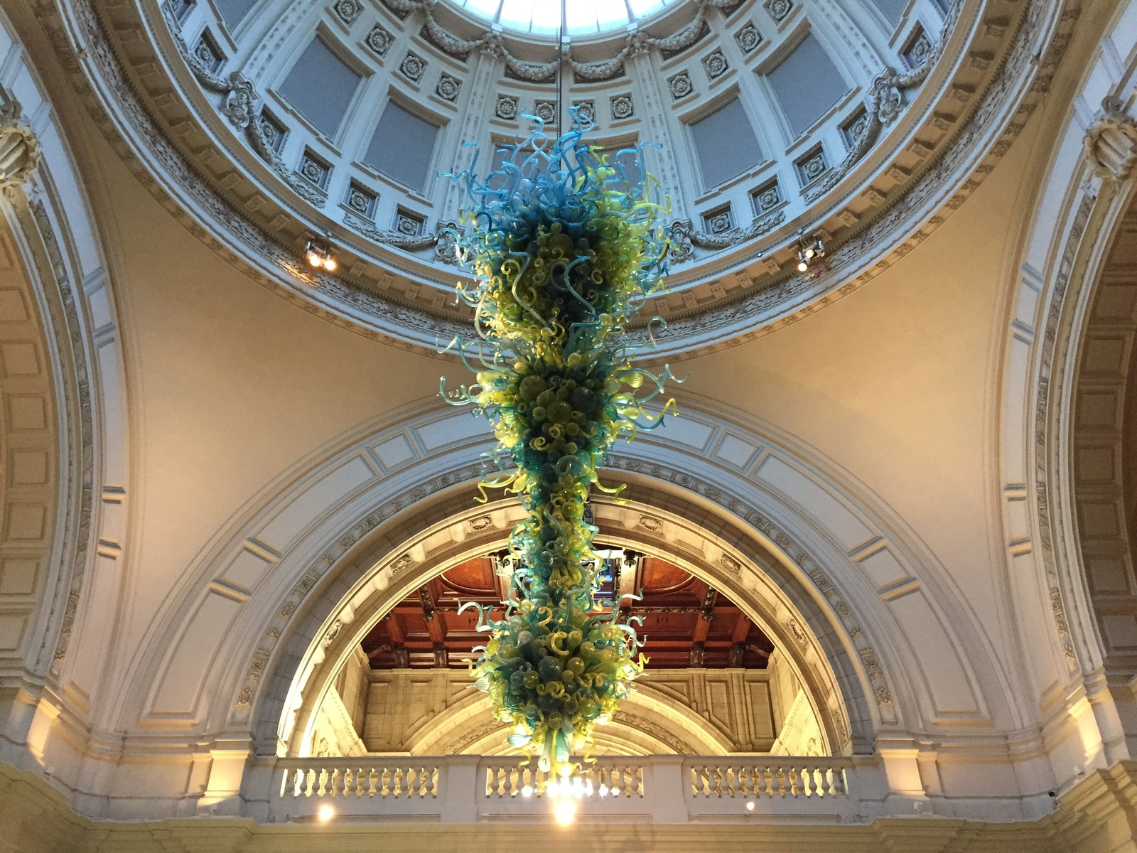 The Rotunda Chandelier at the V&A
